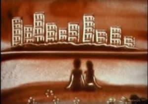 Sand art video animations make the perfect, unique wedding anniversary gifts.